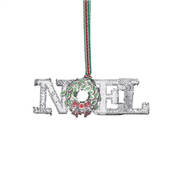 Newbridge Silverware NOEL Decoration with Wreath