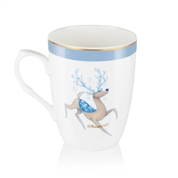 Newbridge Silverware Prancer Christmas Mug