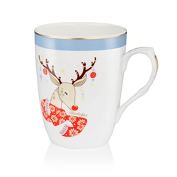 Newbridge Silverware Rudolph Christmas Mug