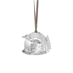 Santas Grotto Hanging Decoration by Newbridge Silverware