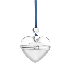Newbridge Silverware Secret Message Heart Decoration