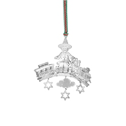 Newbridge Silverware Train Set Decoration