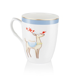Newbridge Silverware Vixen Christmas Mug