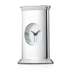 Newbridge Silverware Classic Pillar Clock