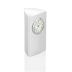 Newbridge Silverware Pillar Clock