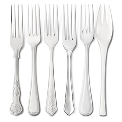 EPNS Dessert Forks by Newbridge Silverware