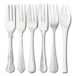 EPNS Fish Forks by Newbridge Silverware