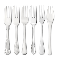 EPNS Pastry Forks by Newbridge Silverware
