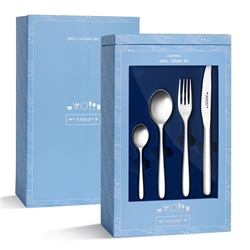 Stainless Steel 24 Piece Gift Pack (Option: Chandra)