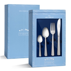 Stainless Steel 24 Piece Gift Pack (Option: Nova)