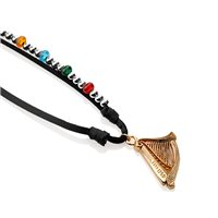 Newbridge Silverware Guinness Necklace Coloured Beads