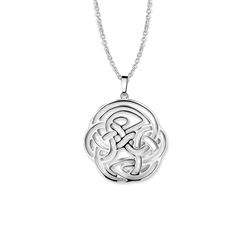 Celtic Pendant Round by Newbridge Silverware