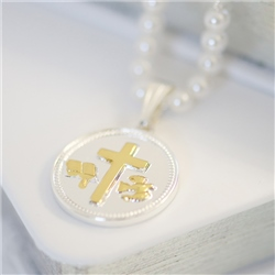 Confirmation Pendant Silver/Gold Plated