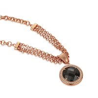 Newbridge Silverware Guinness Rose Goldplated Necklace T. Chain