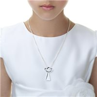 Silverplated First Communion Chalice Pendant