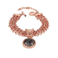 Newbridge Silverware Guinness Rose Goldplated Bracelet T Chain