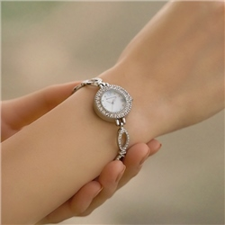 Ladies Watch Link Bracelet Double Clasp