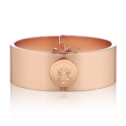 Newbridge Silverware Rose Goldplate Bangle