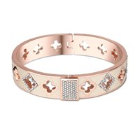 Newbridge Silverware Rose Goldplate Cream Bangle