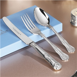 Newbridge Silverware EPNS Kings 3 Piece Child Set Pack