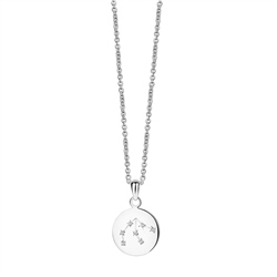 Newbridge Silverware Zodiac Pendant Aquarius