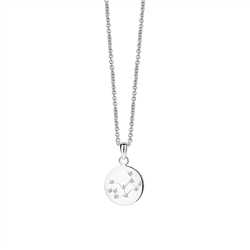 Newbridge Silverware Zodiac pendant Virgo