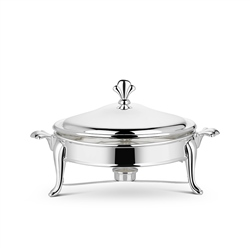 Silver Plated 2.5L Round Warmer by Newbridge Silverware