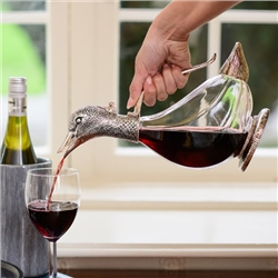 Newbridge Silverware Silver Plated Duck Wine Decanter