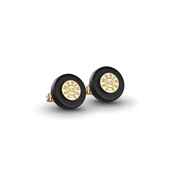 Newbridge Silverware Black stud earrings