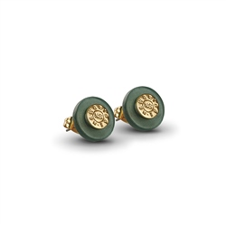 Newbridge Silverware Green Stud earrings
