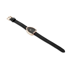 Ladies Black Triangular Watch