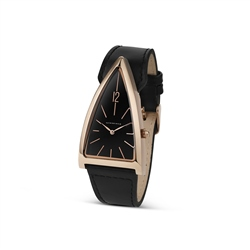 Newbridge Silverware Unisex Black Triangular watch