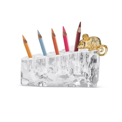Newbridge Silverware Swiss Cheese Pencil Holder