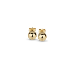 Newbridge Silverware Gold plated Stud Earrings 8mm