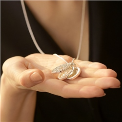 Newbridge Silverware Triple Pendant Locket