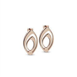 Newbridge Silverware Dew Drop Oval Earrings
