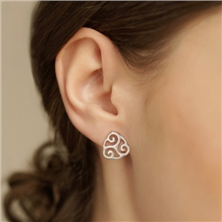 Newbridge Silverware Kells Stud Earrings