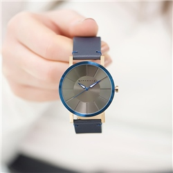 Newbridge Silverware Watch with Blue Strap