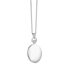 Newbridge Silverware Plain Locket