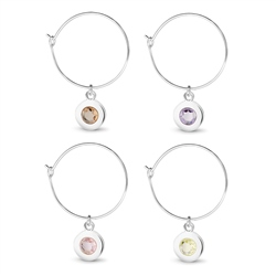 Newbridge Silverware Wine Charms
