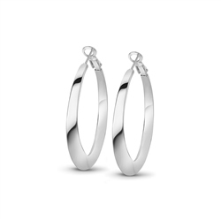 Newbridge Silverware Hoop Earrings