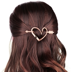 Heart scarf/hair accessory