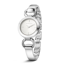 Newbridge Silverware Ladies Silverplated Watch Solid & link bracelet