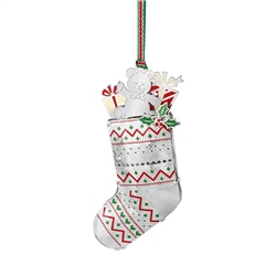 Newbridge Silverware Christmas Stocking Decoration