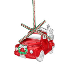 Red Car Christmas Decoration by Newbridge Silverware