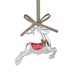 Newbridge Silverware Reindeer Decoration