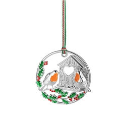 Robin Hanging Decoration by Newbridge Silverware