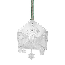Newbridge Silverware Santa in Envelope Decoration