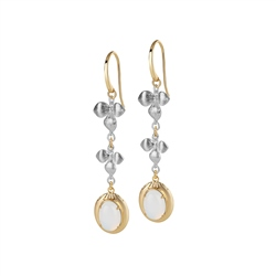 Newbridge Silverware Dalique Orchid Earrings