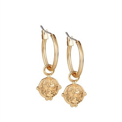 Newbridge Silverware Small Coin Earrings